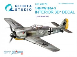 FW 190A-3 Interior 3D Decal