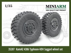 KamAZ 4386 Typhoon.VDV Sagged wheels set