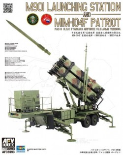 M901 Launching Station and MIM-104F PATRIOT