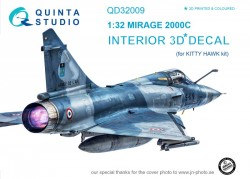 Mirage 2000C Interior 3D Decal