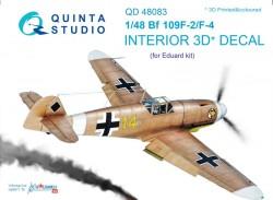 Bf 109F-2/F-4 Interior 3D Decal