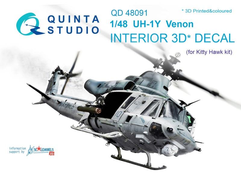 UH-1Y Venom Interior 3D Decal