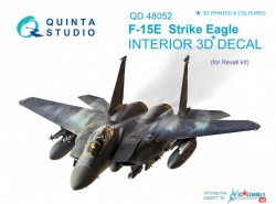 F-15E Interior 3D Decal