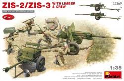 ZIS-2/ZIS-3 With LIMBER & CREW. 2 IN 1