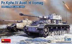 Pz.Kpfw.IV Ausf. H Vomag. Early Prod. (June 1943)