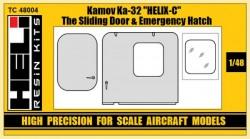 Kamov Ka-32 Helix-C Sliding Door & Emergency Hatch Set