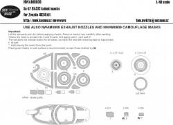 F-104G/J TAIL SECTION kabuki masks