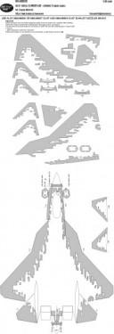 Su-57 DIGITAL CAMOUFLAGE - scheme 2 kabuki masks