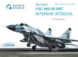 MiG-29SMT Interior 3D Decal