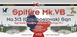 Spitfire Mk.VB No.313 (Czechoslovak) Sqn. P.I