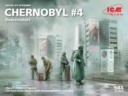Chernobyl  4 Deactivators (4 figures)
