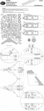 Su-30SM EXPERT kabuki masks