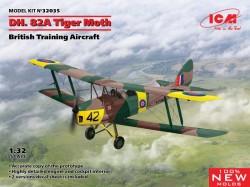 D.H. 82A Tiger Moth, British Training Aircraft