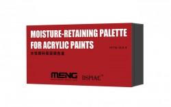 Moisture-Retaining Palette for Acrylic Paints