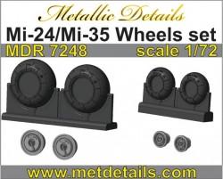 Mi-24/Mi-35. Wheels set
