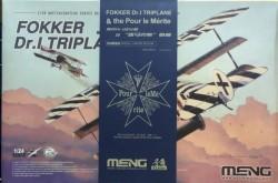 Fokker Dr.I Triplane & Blue Max Medal Limited Edition