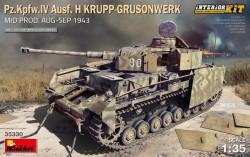 Pz.Kpfw.IV Ausf. H Krupp-Grusonwerk. Mid Prod. (Aug-Sep 1943) Interior Kit