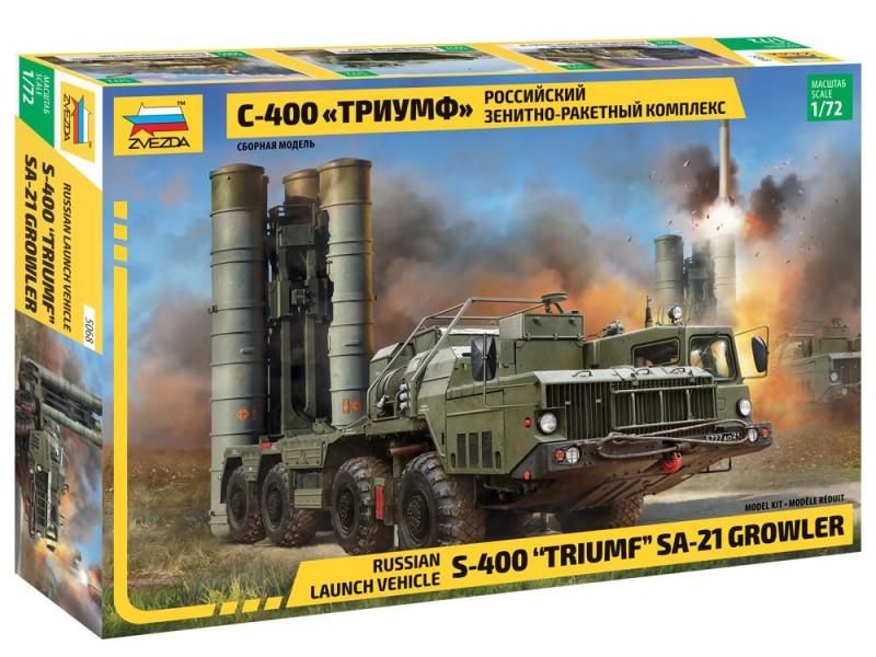 "S-400 ""Triumf"" AA missile Systém"