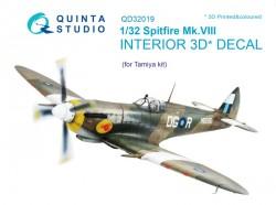 Spitfire Mk.VIII Interior 3D Decal