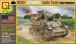 M5A1 Stuart Light Tank Early Production