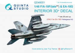 F/A-18F late / EA-18G Interior 3D Decal