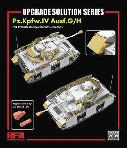 Upgrade set for Pz.IV Ausf.G/ H