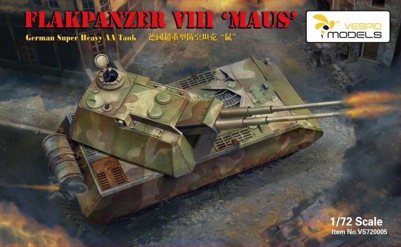 Flakpanzer VIII Maus - German Super Heavy AA Tank