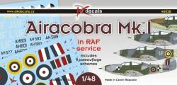 Airacobra Mk.I in RAF service