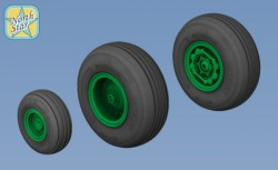 Sikorsky UH-60 Blackhawk wheels set – No Mask series