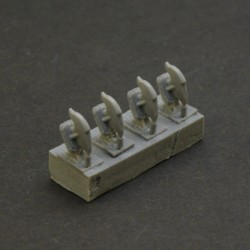 Towing Hooks type 2 for Soviet medium and heavy tanks and more (4 pcs in a set)