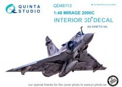Mirage 2000C Interior 3D Decal