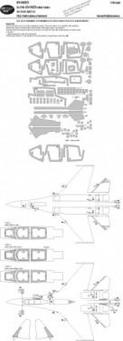 Su-27UB ADVANCED kabuki masks