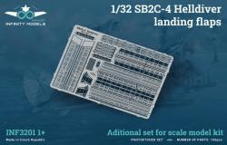 SB2C-4 Helldiver landing flaps