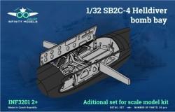 SB2C-4 Helldiver bomb bay