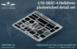 SB2C-4 Helldiver photoetched detail set