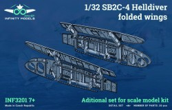 SB2C-4 Helldiver folded wings