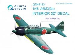 A6M3 Interior 3D Decal
