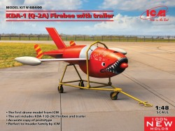 Q-2A (KDA-1) Firebee with trailer (1 airplane and trailer)