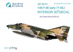 F-4E early/F-4EJ Interior 3D Decal