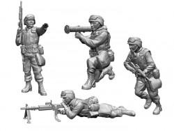 US motorized infantry