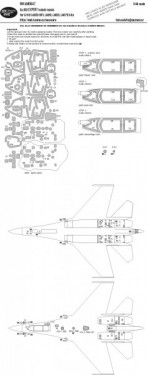 Su-35S EXPERT kabuki masks