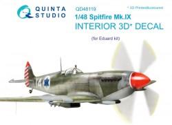 Spitfire Mk.IX Interior 3D Decal