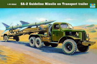 Sam-2  Missile with Loading Cabin