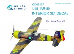 IAR-80 Interior 3D Decal