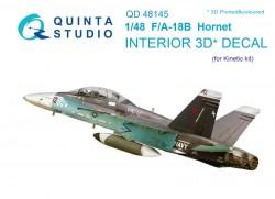 F/A-18B Interior 3D Decal