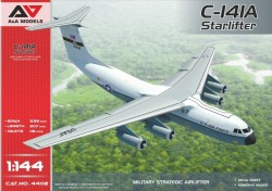 C-141A Military strategic airlifter