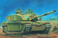 British Challenger II MBT Basra 2003 Telic