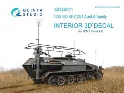 KFZ 251 Ausf.A Interior 3D Decal