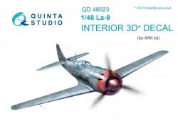 La-9 Interior 3D Decal