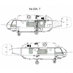 Kamov Ka-32A/T Conversion detail set
